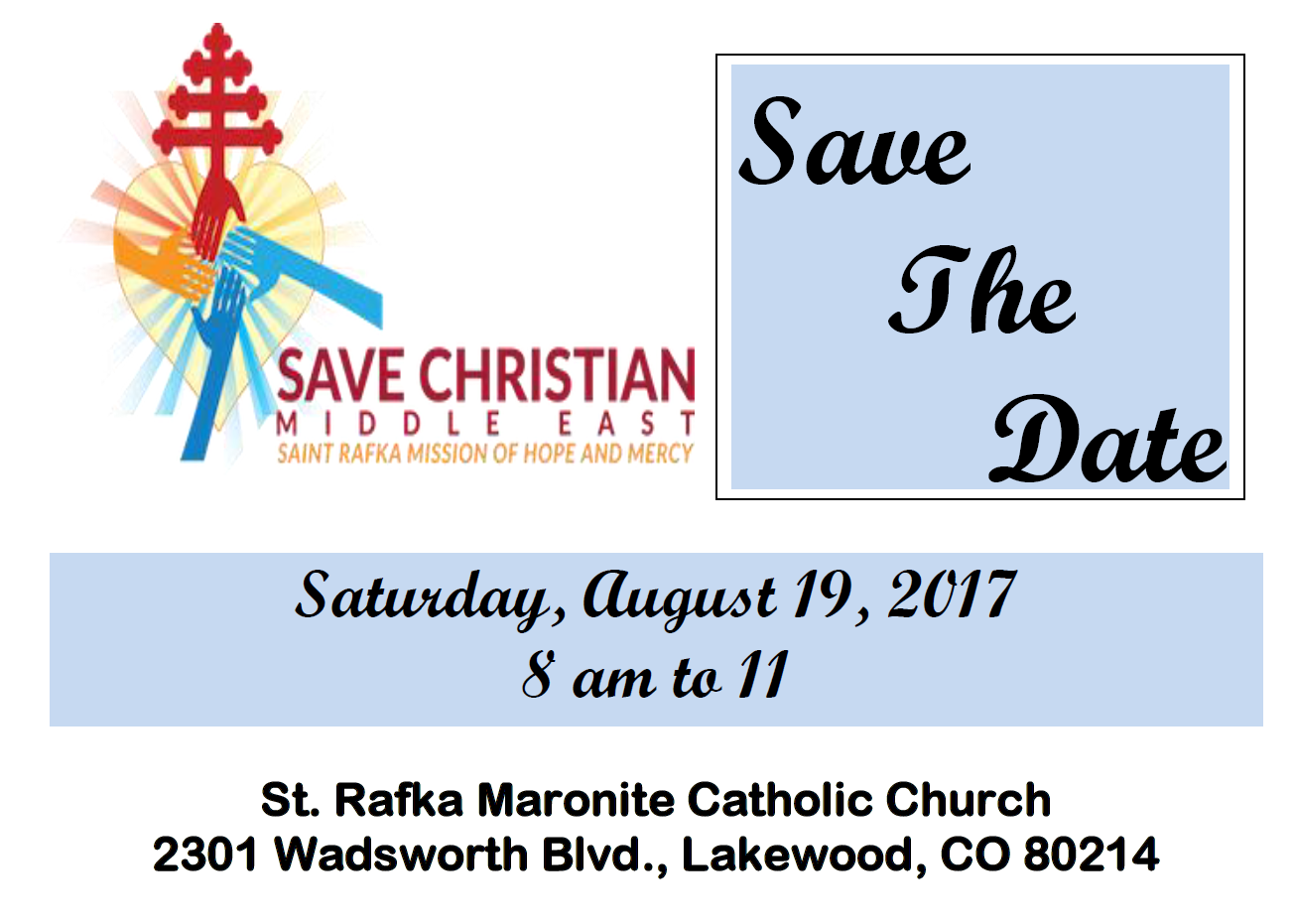 The 3rd Annual Ecumenical Prayer Breakfast